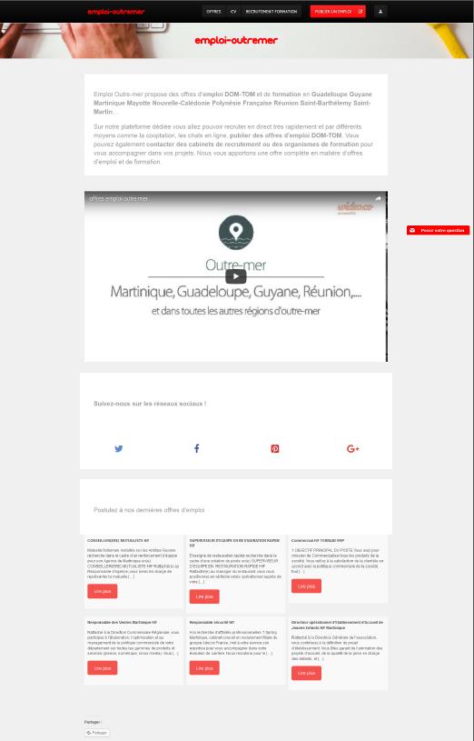 Exemple de page entreprise marque employeur
